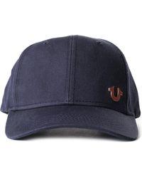True Religion - Core Logo Men s Baseball Cap Navy rose Gold - Lyst 8a3ee1e0dea3