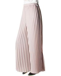 Replay - Pleated Women's Trousers Beige - Lyst
