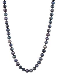 Carolee - Fresh Water Pearl Knotted Strand Necklace - Lyst