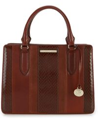 Brahmin - Windsor Collection Small Camille Satchel - Lyst