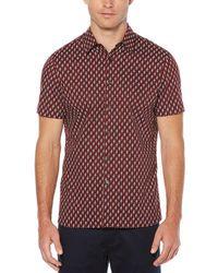 Perry Ellis - Bouquet Print Short-sleeve Woven Shirt - Lyst