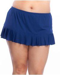 99473a4741 Ivanka Trump Tummy Control Midi Skirt in Black - Save 47% - Lyst