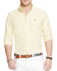 Polo Ralph Lauren - Solid Oxford Shirt - Lyst