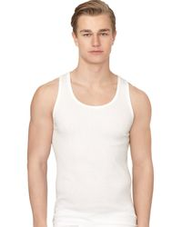 Calvin Klein - Cotton Classic Ribbed Tanks 3-pack - Lyst