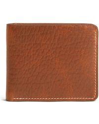 Trask - Men S Jackson Bison Slim Fold Wallet - Lyst