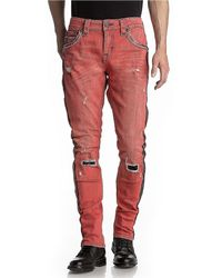 Rock Revival - Sycamore Ta7 Tapered Side Stripe Jeans - Lyst