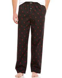 Polo Ralph Lauren - Pony-print Woven Pajama Pants - Lyst