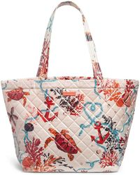 Vera Bradley Quilted Beach Tote Bag
