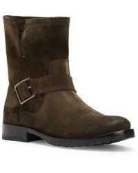 Frye | Natalie Short Engineer Booties | Lyst