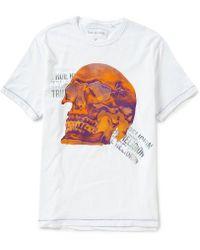 True Religion - Short-sleeve Double Puff Buddha Logo Holographic T-shirt - Lyst