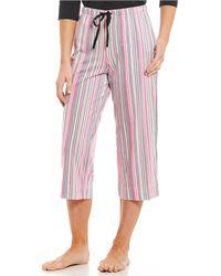 Karen Neuburger - Full Length Knit Pajama Pants - Lyst