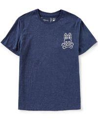 Psycho Bunny - Lounge Glow Bunny Crewneck T-shirt - Lyst