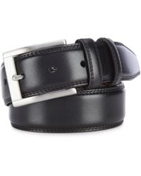 b5de5b89e2 Lyst - Polo Ralph Lauren Core Smooth Leather Belt in Brown for Men