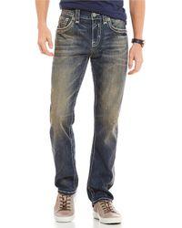 Rock Revival - 32 Matt A202 Alternate Straight Fit Jeans - Lyst