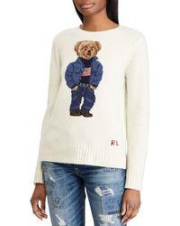 Polo Ralph Lauren - Polo Bear Wool-blend Sweater - Lyst