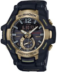 G-Shock - Black Gold Ana-digi Watch - Lyst