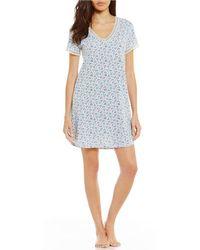 Karen Neuburger - Ditsy Floral Sleepshirt - Lyst