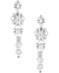 Cezanne - Flower Cluster Earrings - Lyst