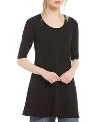 Eileen Fisher - Jersey A-line Tunic - Lyst