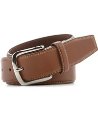 Cole Haan - Burnished-edge Leather Belt - Lyst