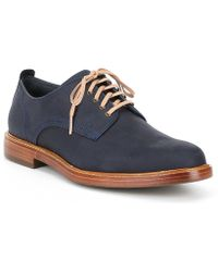 Cole Haan - Men's Tyler Waxy Leather Plain Oxford - Lyst