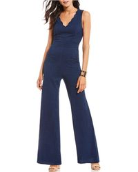 Sugarlips - Scallop Jumpsuit - Lyst
