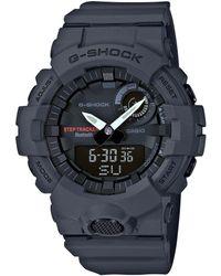 G-Shock - Grey Mid Size Ana Digi Watch - Lyst