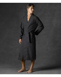 Polo Ralph Lauren - Soho Plaid Robe - Lyst