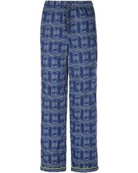 Psycho Bunny - Galaxy Large Bunny Woven Pajama Pants - Lyst