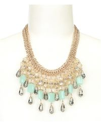 Belle By Badgley Mischka - Bib Necklace - Lyst