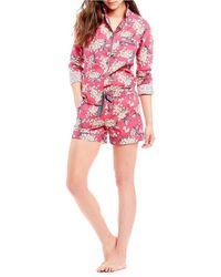 Antonio Melani - With Liberty Fabrics Archive Lilac Pajamas - Lyst