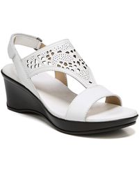Naturalizer - Veda Wedge Sandals - Lyst