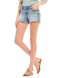 Silver Jeans Co. - Tuesday Super-stretch Denim Shorts - Lyst