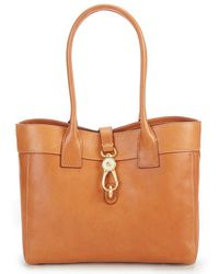 Dooney & Bourke - Florentine Collection Large Amelie Shoulder Bag - Lyst