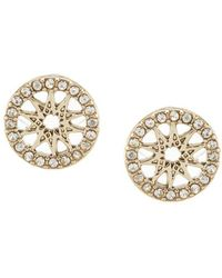 Marchesa - Dainty Detour Stud Earrings - Lyst