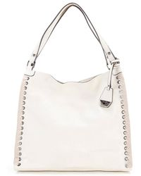Jessica Simpson - Zamia Velvet Whip-stitched Tote - Lyst