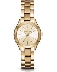 Michael Kors - Mini Slim Runway Analog Bracelet Watch - Lyst