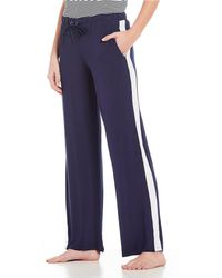 Splendid - Jersey Knit Drawstring Tie Sleep Pants - Lyst