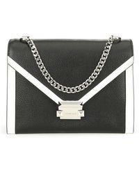 8817a439762e MICHAEL Michael Kors - Whitney Large Shoulder Colorblock Chain Crossbody Bag  - Lyst