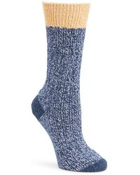 Frye - Textured Tipping Socks - Lyst