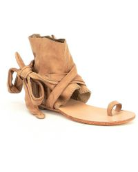 Free People | Delaney Boot Sandals | Lyst