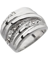 Dillard's - Boxed Collection Crystal Stone Wrap Band Ring - Lyst
