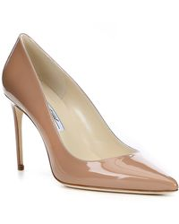 Brian Atwood - Valerie Patent Leather Dress Pumps - Lyst