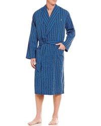 Polo Ralph Lauren - Woven Plaid Robe - Lyst