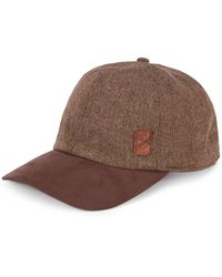 Cremieux Textured Baseball Cap - Brown