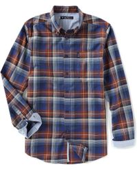 Ben Sherman - Classic Fit Ombre Check Long-sleeve Shirt - Lyst