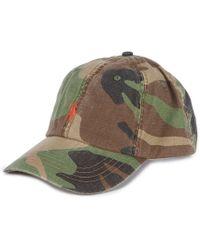 Lyst - Polo Ralph Lauren Oilcloth Bucket Hat in Green for Men 15a2bd27d66d