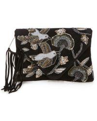 Sam Edelman - Carina Envelope Clutch (black/bird) Handbags - Lyst