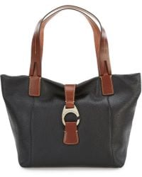 Dooney & Bourke - Derby Collection East/west Colorblock Shopper - Lyst