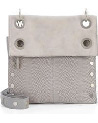 Hammitt - Montana Reversible Embossed Leather Cross-body Bag - Lyst